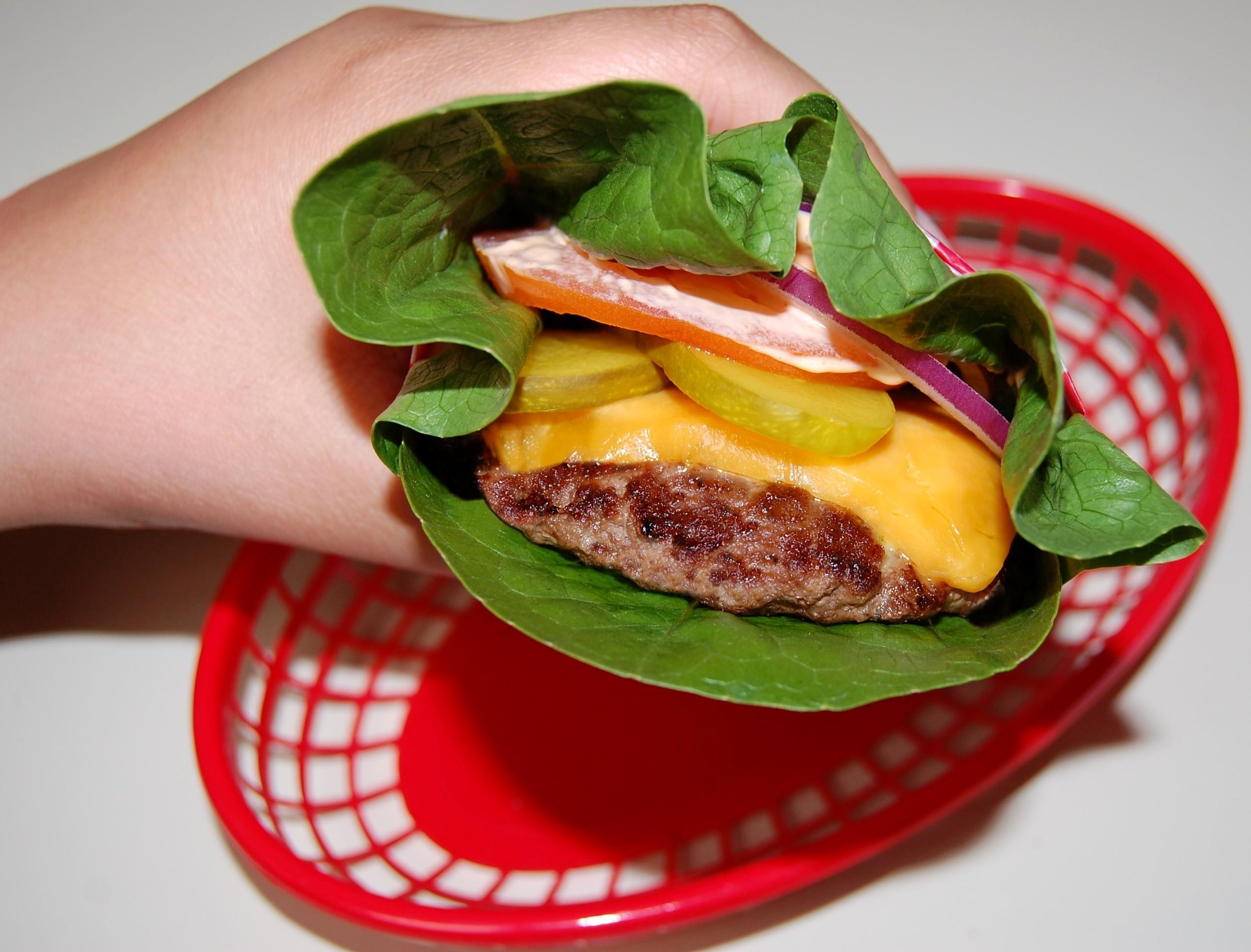 Cheeseburger Lettuce Wraps Cooking Mamas