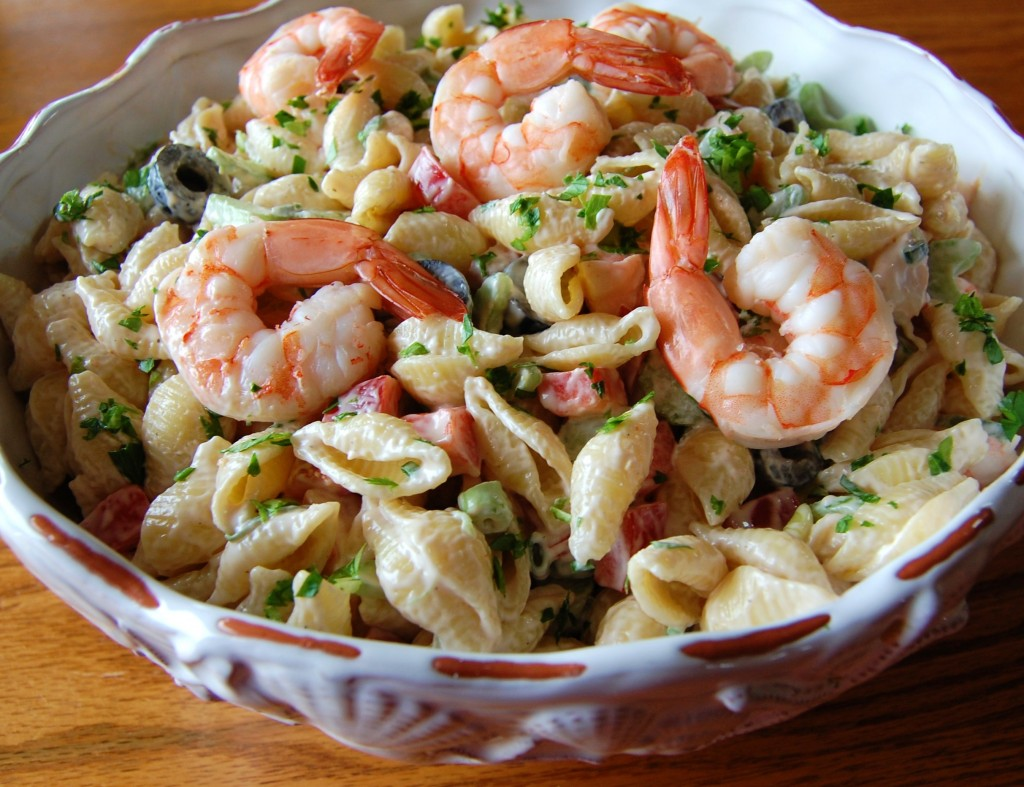 Shrimp Pasta Salad | Cooking Mamas