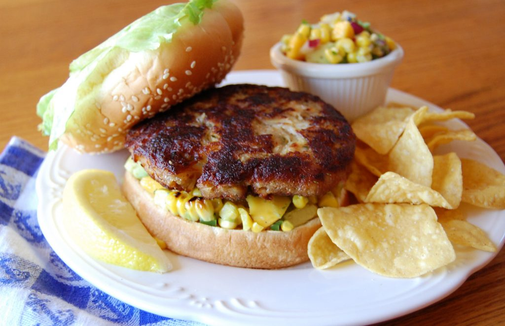 Dungeness Crab Burgers