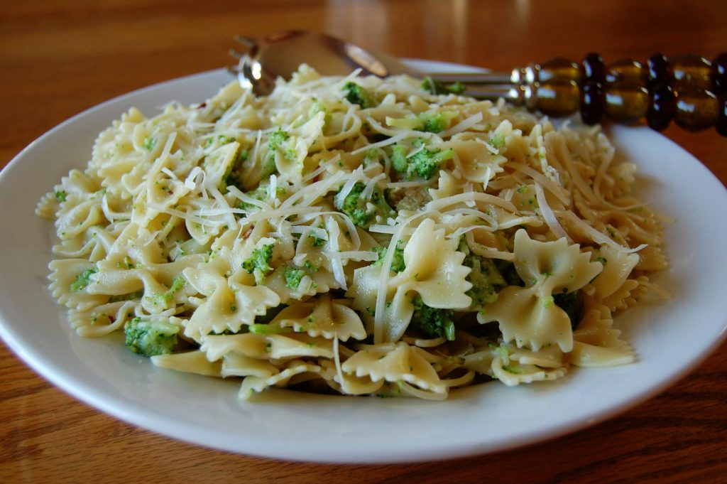 Bowtie Pasta with Broccoli