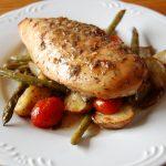 Sheet Pan Honey Balsamic Chicken with Veggies
