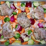 Sheet Pan Roasted Chicken and Fall Veggies