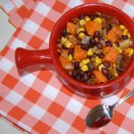 Spicy Sweet Potato & Black Bean Chili