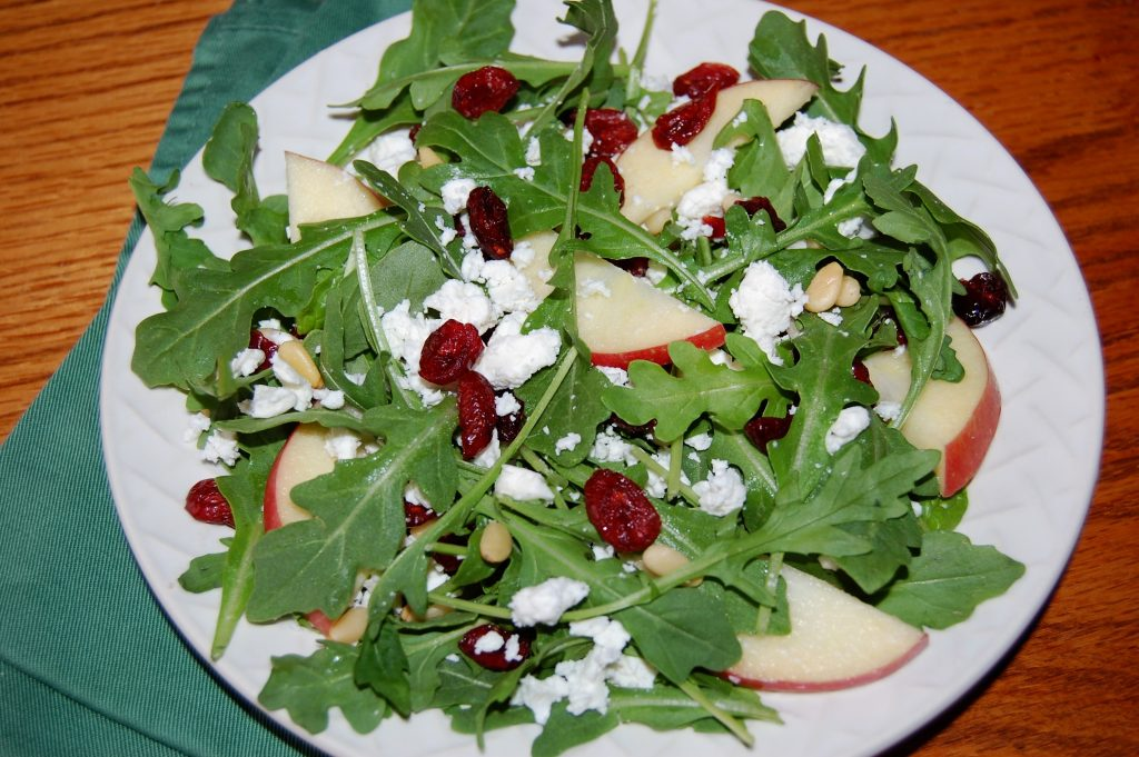 Apple Arugula Salad