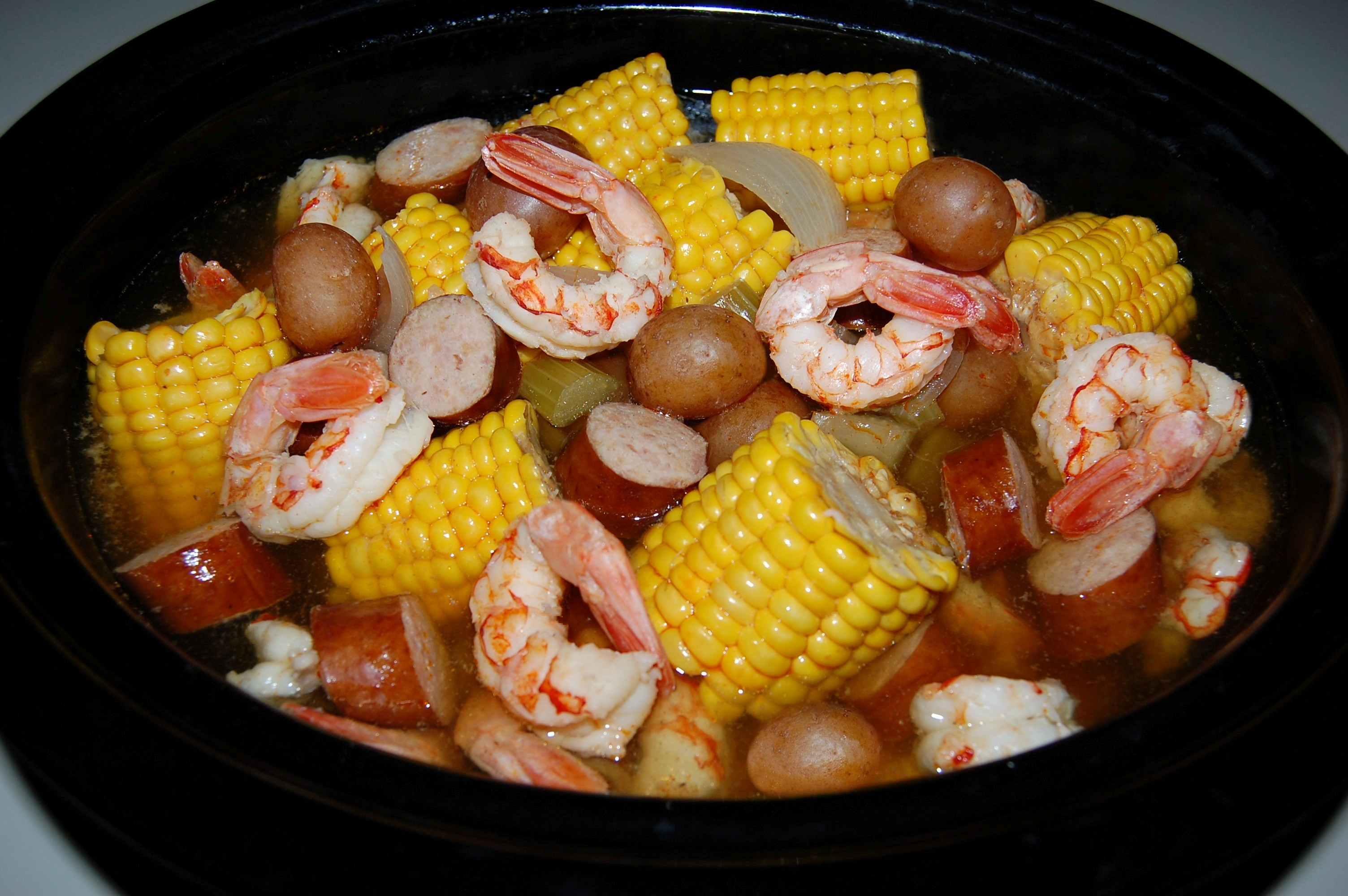 Crock Pot Low Country Boil Cooking Mamas