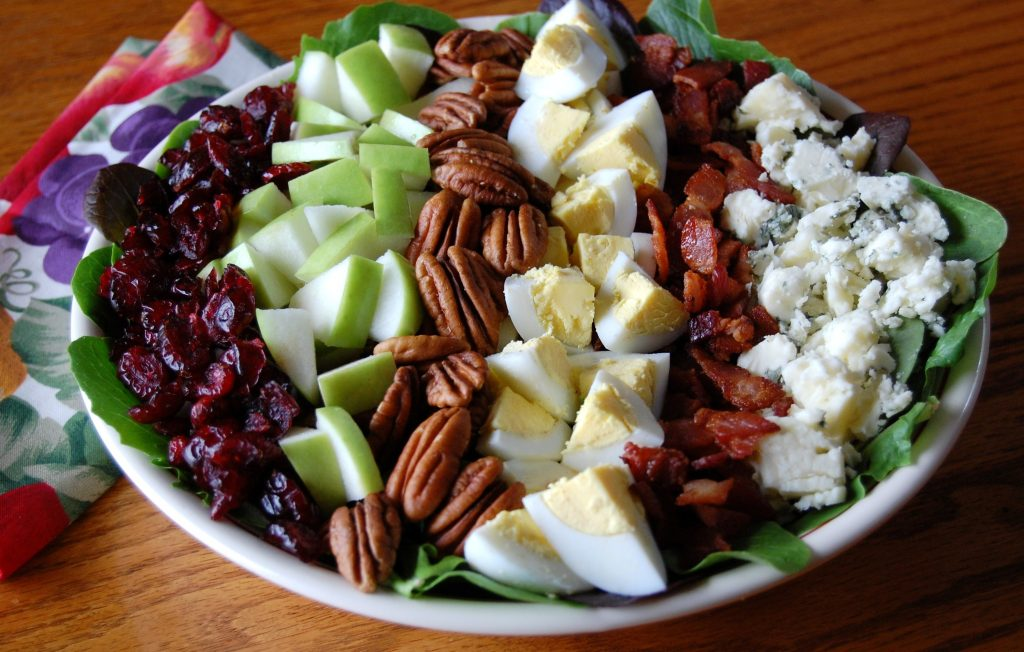 Harvest Cobb Salad with Poppy Seed Dressing