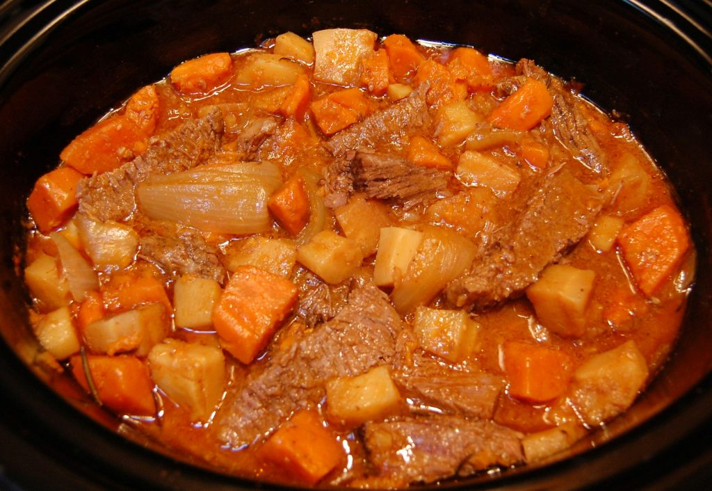 Slow Cooker Cider Braised Pot Roast