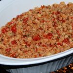 Bruschetta Chicken or Turkey Casserole