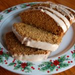 Gingerbread Loaf with Cinnamon Icing
