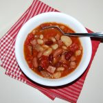 Crock Pot Ham and Beans Soup
