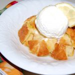 Limoncello Bread Pudding