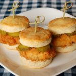 Chicken and Biscuits Sliders
