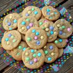 Easter M&M's Sugar Cookies