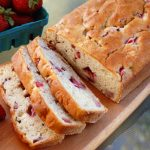 Strawberry Banana Cream Cheese Bread