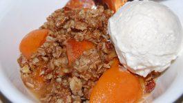 Apricot Crumble