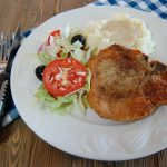 Pan Fried Pork Chops with Country Gravy