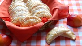Glazed Peach Hand Pies