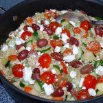 Greek Chicken Gyro Skillet