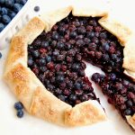 Blueberry Cream Cheese Crostata