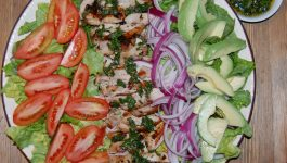 Chimichurri Chicken Salad