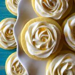 Lemon Sugar Cookies with Lemon Buttercream Frosting