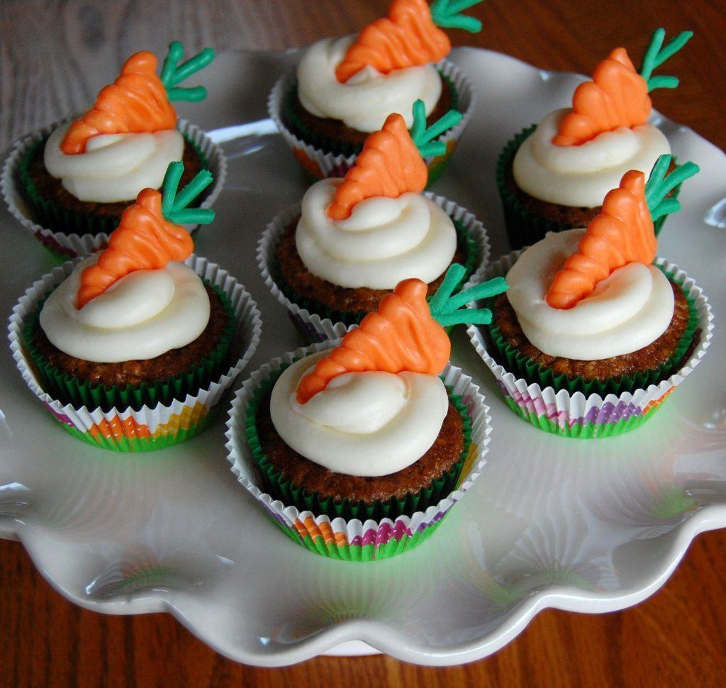 Carrot Cake Cupcakes Cooking Mamas