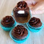 Chocolate Marshmallow Stuffed Cupcakes