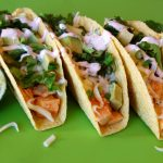 Sweet & Spicy Sriracha Chicken Tacos