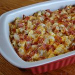 Chicken Bacon Ranch Pasta Casserole