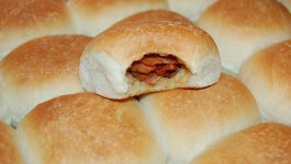 Bacon and Onion Dinner Rolls