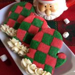 Christmas Mitten Sugar Cookies