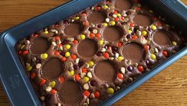 Ultimate Reese's Stuffed Brownies