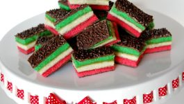 Seven Layer Rainbow Cookies