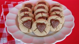 Sweetheart Peanut Butter Cookies