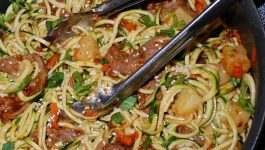 Spicy Mongolian Beef Zoodles