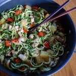 Teriyaki Chicken Zoodles