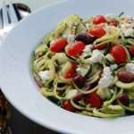 Greek Zoodle Salad