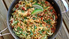 Cheesy Taco Zoodles